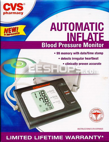Offical CVS pharmacy Automatic Inflate Blood Pressure