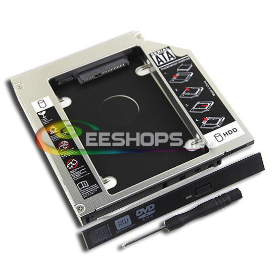Cheap New Laptop Internal SATA DVD Optical Drive Bay for