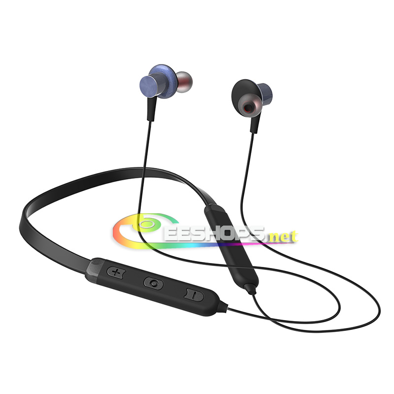 Cheap Neckband Earphones with Bluetooth Wireless Microphone in-Ear