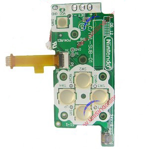 DSi D-Pad Power Board C/TWL-SUB-01