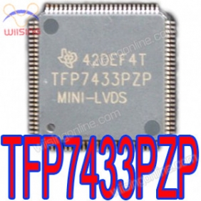 TI TFP7433 TFP7433PZP TFT- LCD Panel Timming Controller With Mini-LVDS AND FlatLink