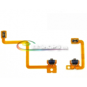 New Original Left L and R Right Trigger Buttons Shoulder Switch Button Flex Cable Flat Cables for Nintendo 3DS Replacement Repair Part