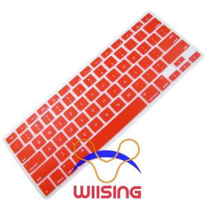 Apple Macbook 13.3 Inch Moulded Silicone Keyboard Skin Red