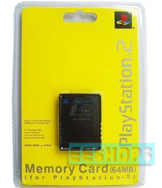 Brand New PS2 64M 64MB Memory Card Sealed