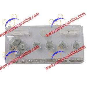 PSP 1000 Faceplate Button Set Gray PSP 1000 Repair Parts