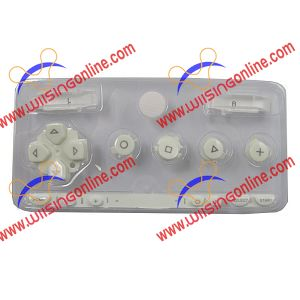 PSP 1000 Faceplate Button Set White PSP 1000 Repair Parts