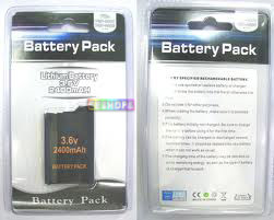 Sony PSP 2000 2400 MAH Battery Pack