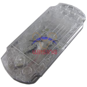 PSP 2000 Housing Shell Case with Button Set (Crystal)