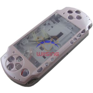 PSP 2000 Housing Shell Case with Button Set (Pink)
