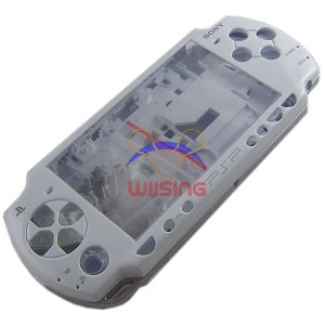 PSP 2000 Housing Shell Case with Button Set (White)