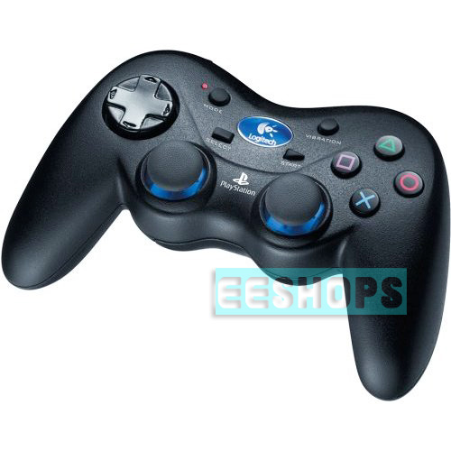 Logitech 2.4 GHz PS2 Cordless Action Wireless Controller