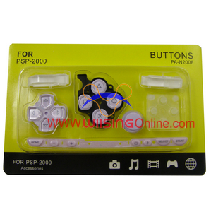 Repair Parts Replacement Buttons for PSP Slim/2000 (Purple)