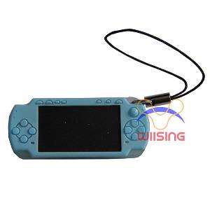 Silicon Decorated pendant-miniature PSP console blue colour