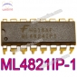 FAIRCHILD ML4824IP-1 ML4824 Power Factor Correction and PWM Controller Combo 16-Pin PDIP ML4824IP1