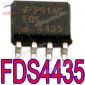 Fairchild FDS4435 P-Channel Logic Level PowerTrenchTM MOSFET SOP-8