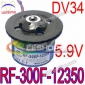 Mabuchi Spindle Motor DC 5.9V RF-300F-12350 DV34 DVD Mechanism CD VCD DVD RW Burner Drive Blu-ray Player