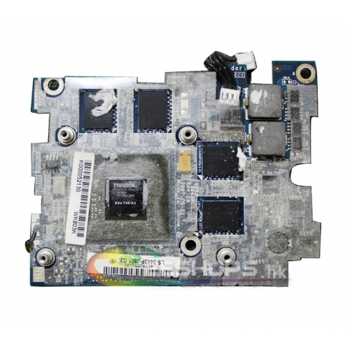 Toshiba Satellite X205 X200 P200 P205 Series Laptop Graphics Video Card nVidia GeForce 9700M GT G84-750-A2 512MB VGA Board LS-3443P Original