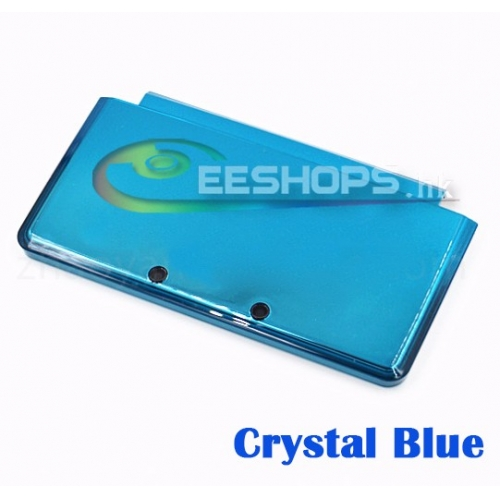 Buy Genuine Cheap A Face Case Top UP Upper Shell Blue Color for Nintendo 3DS Handheld Game Console Replacement Spare Part Free Shipping
