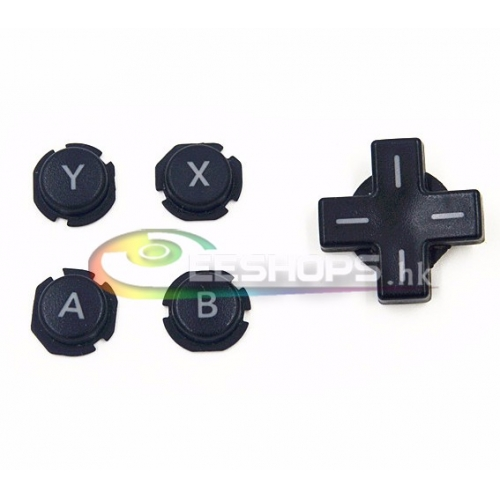 Cheap Genuine ABXY A B X Y D-Pad Direction Cross Key Function Button Full Set for Nintendo 3DS LL XL 3DSLL 3DSXL Console Replacement Free Shipping