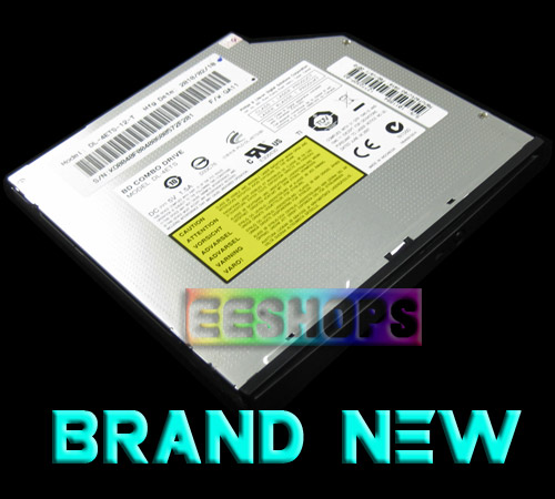 New Philips Lite-On DL-4ETS Blu-Ray Combo BD-ROM 3D Player Slot-In DVD RW Burner Internal SATA Drive