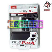 Nintendo DS NDSI XL 16 In 1 Pack Essential Accessory Pack