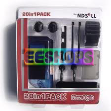 Nintendo DS NDSI XL 20 In 1 Pack Essential Accessory Pack