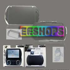 Sony PSP GO Crystal Case with Stand