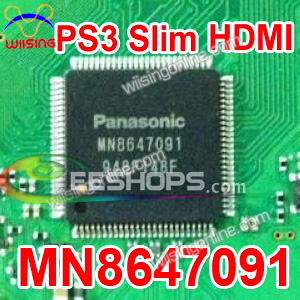 PS3 Slim HDMI Control IC MN8647091 By Panasonic Repair Part